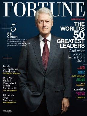 《财富》:50位全球各界最伟大领导者