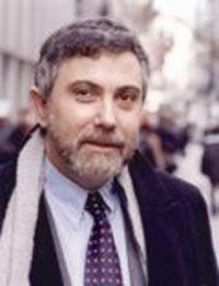 普林斯顿大学教授保罗-克鲁格曼(Paul Krugman)