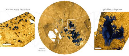 土卫六上的海,全是甲烷!