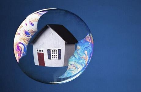 刺破房地产泡沫会造成经济危机吗?