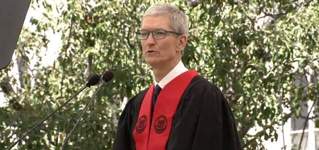苹果CEO蒂姆·库克2017MIT毕业演讲