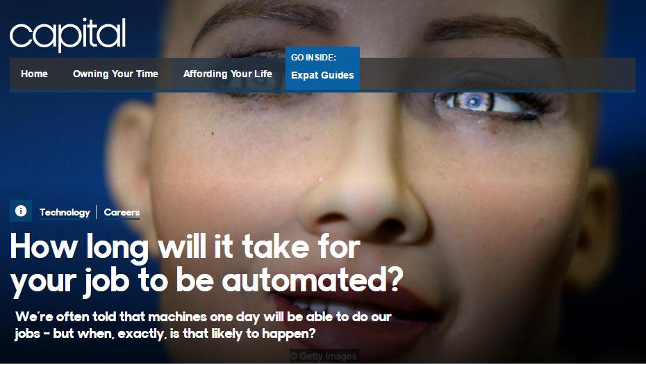 你的工作离自动化还有多远?