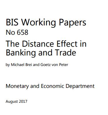 距离对银行与交易的影响