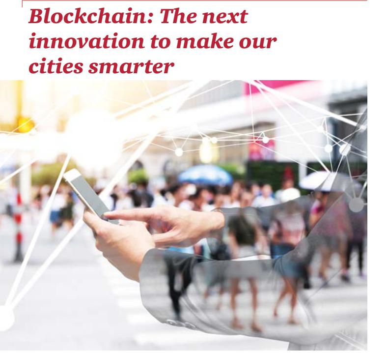 普华永道:区块链让城市更智能