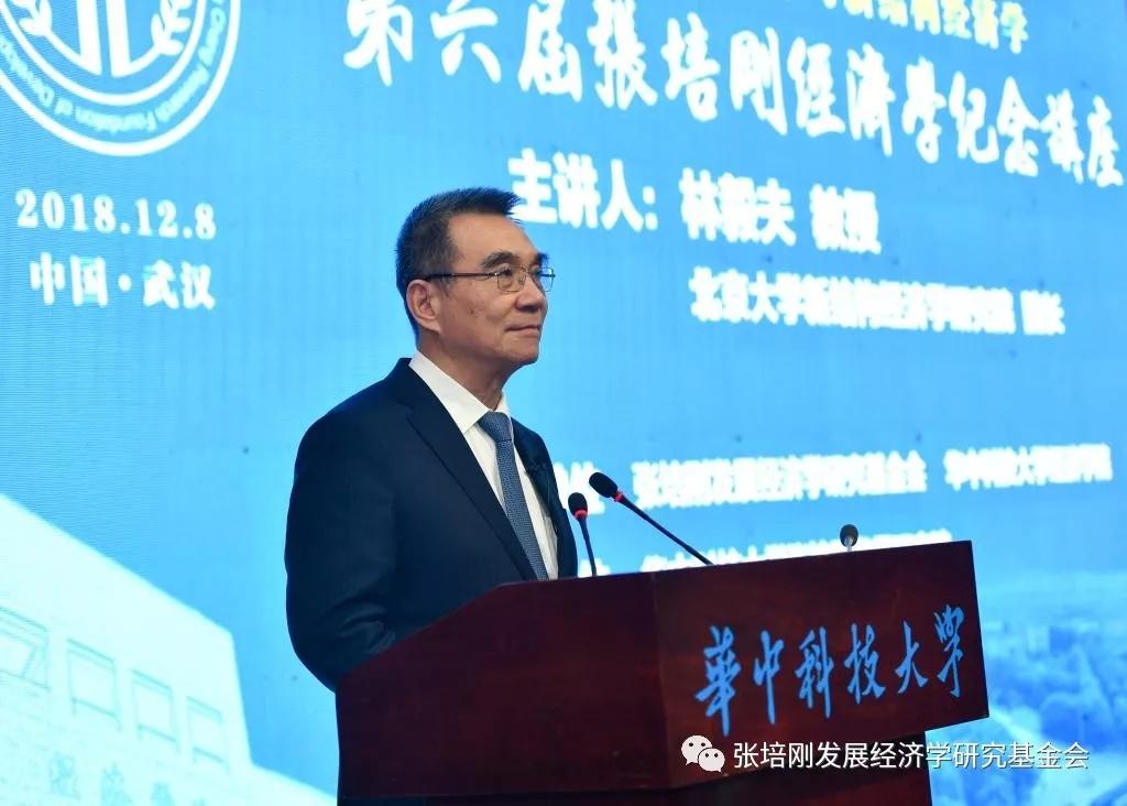 林毅夫教授解读改革开放四十年与新结构经济学