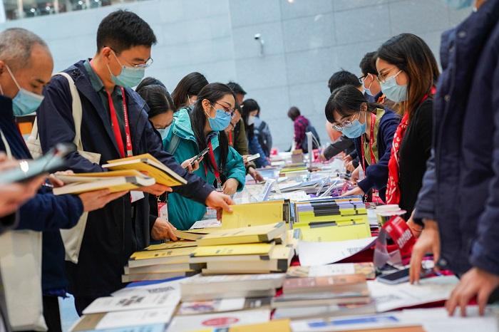 第二十届中国经济学年会经济学类图书展开展举行
