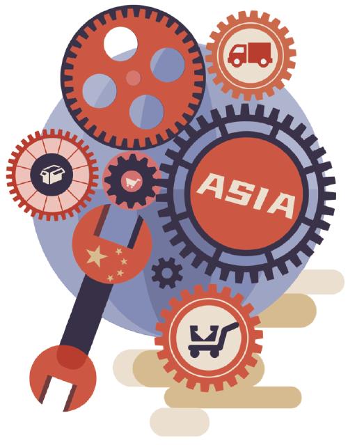 中国仍牢牢占据全球产业链核心